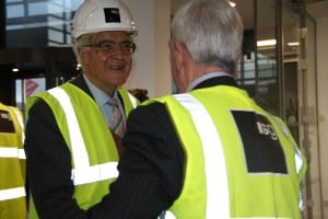 Lord Baker meets Cllr Terry O'Neill