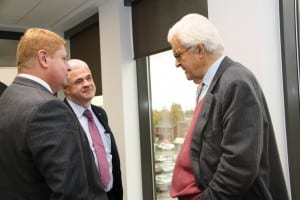 Lord Baker meets Steve Park from Warrington & Co and John Patterson from Sellafield Ltd